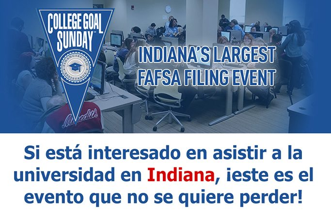 Indiana students to get free FAFSA filing help at College Goal Sunday