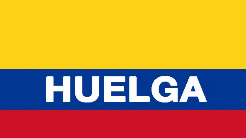 La huelga nacional en Colombia paraliza el país