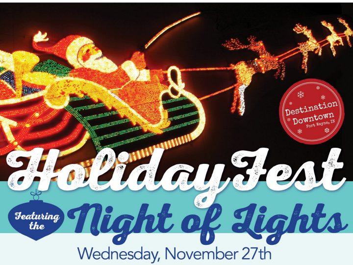 El centro de Fort Wayne se llenará de espíritu navideño en la Noche de Luces