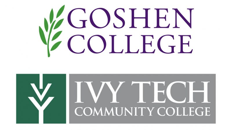 Goshen College and Ivy Tech Community College sign articulation agreements
