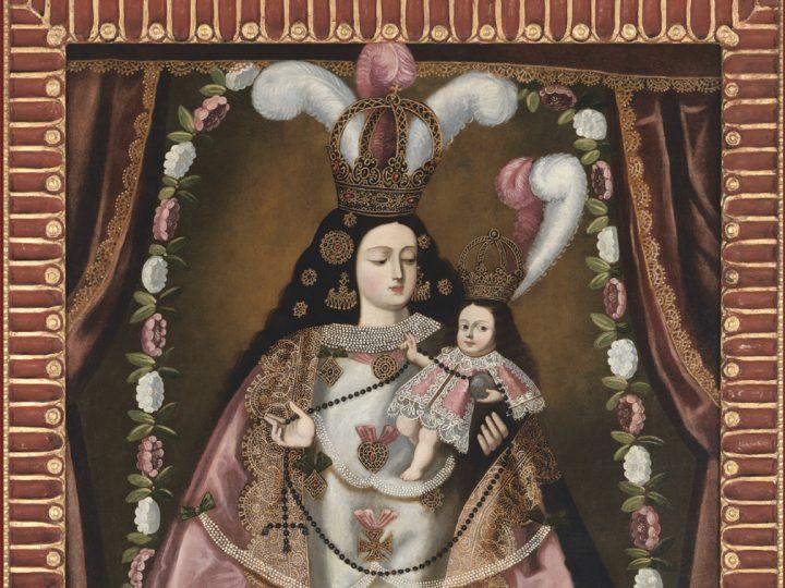 Ilusiones Divinas: Pinturas de estatuas de la Sudamérica Colonial