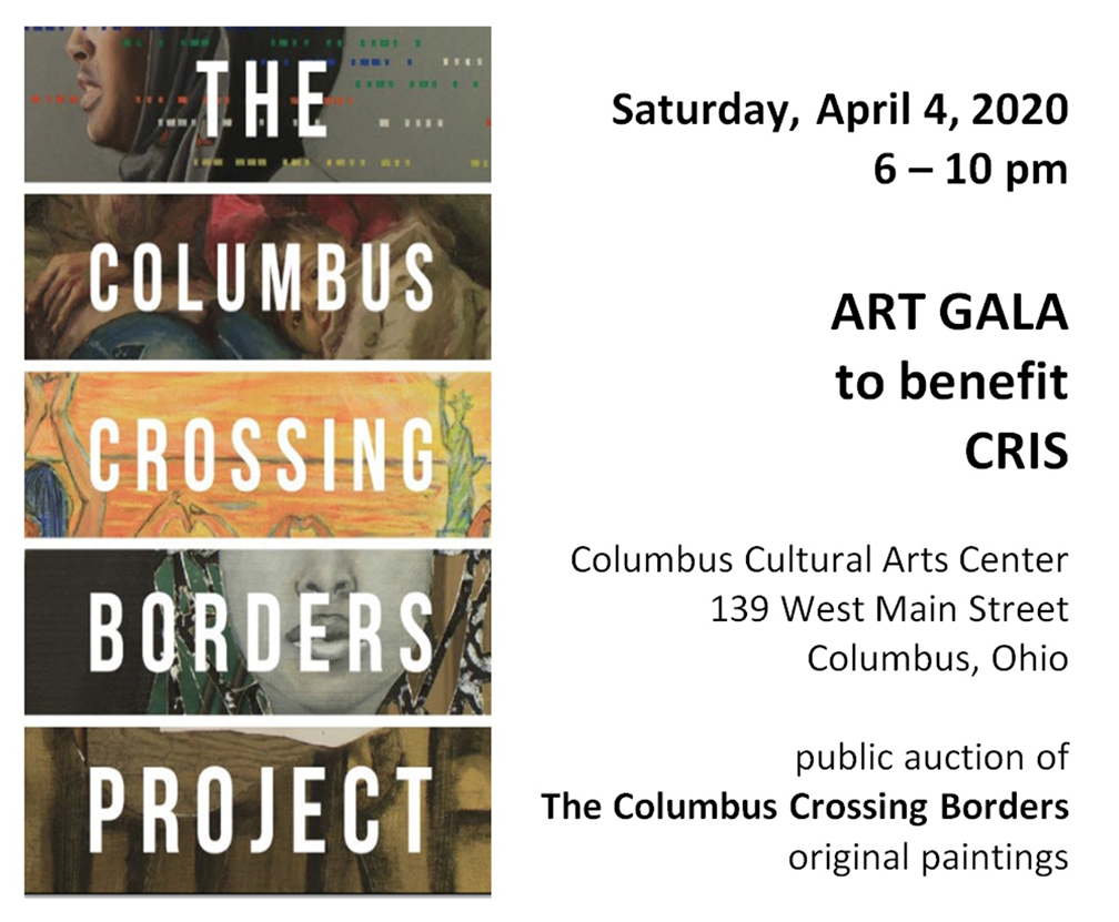 Art GALA to benefit Community Refugee and Immigration Services of Ohio