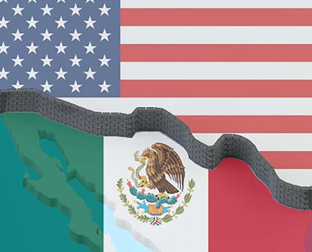 Se acabó el plazo para cruzar la frontera entre México y Estados Unidos; el coronavirus separa a los dos países