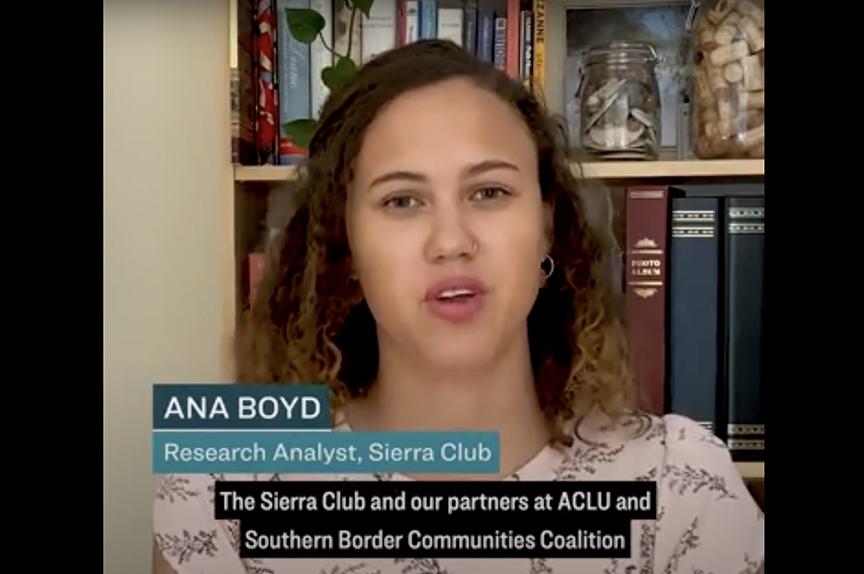 El Sierra Club y sus aliados llevan la pelea contra el muro fronterizo a la Corte Suprema