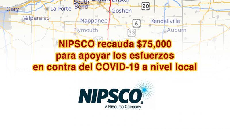 NIPSCO recauda $75,000 para apoyar los esfuerzos en contra del COVID-19 a nivel local