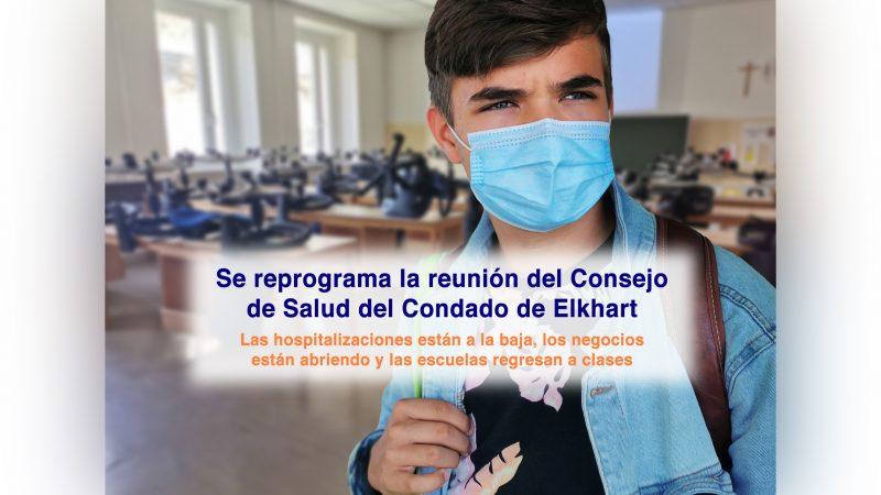 Se reprograma la reunión del Consejo de Salud del Condado de Elkhart