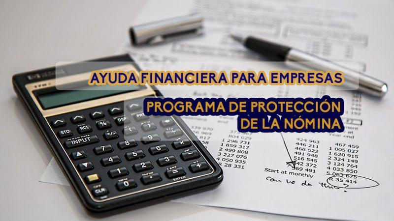 Ayuda financiera para empresas