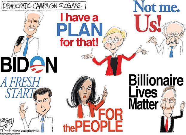 La carrera por los votos continúa…