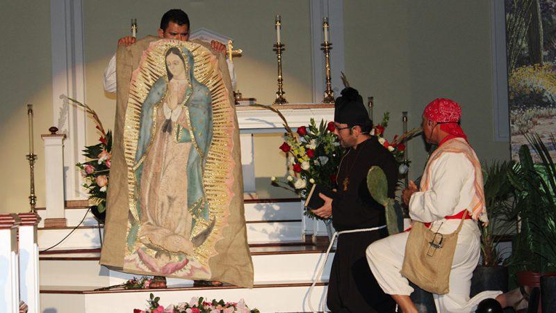 El día de la Virgen de Guadalupe en Goshen