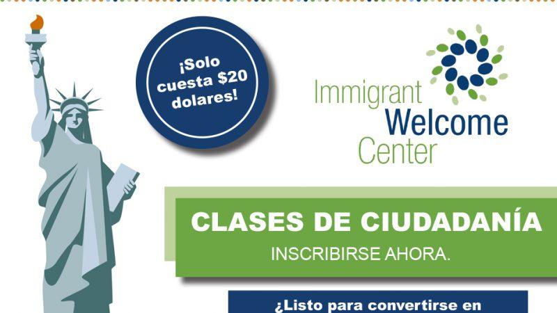 Clases de Ciudadanía en el Immigrant Welcome Center de Indianapolis.