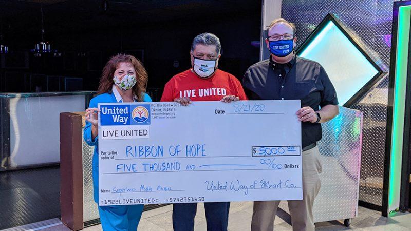 Alvaro Marquez Wins United Way's Superhero Contest