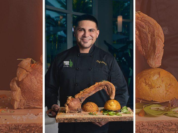 El chef Emanuel Jiménez lidera la gastronomía boricua de lujo en Miami