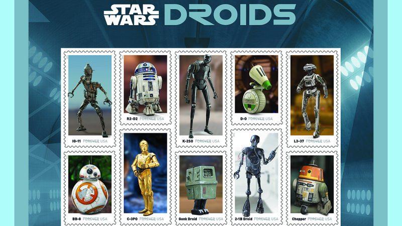 ¡Bienvenida a los droides!