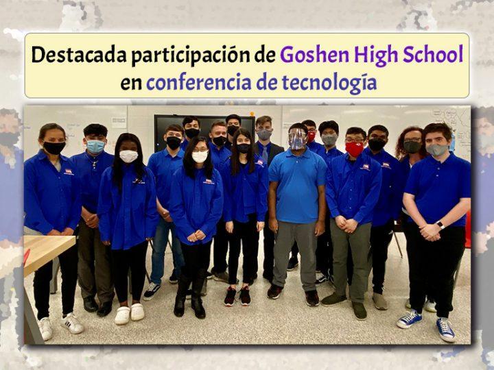 Destacada participación de Goshen High School en conferencia de tecnología