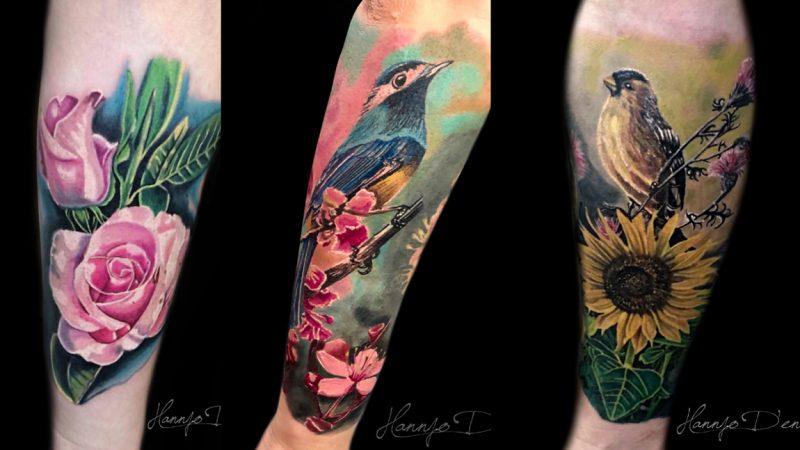 """Johann Morales (Hannjo), el artista del tatuaje que marca tendencias con el """"realismo a color"""""""