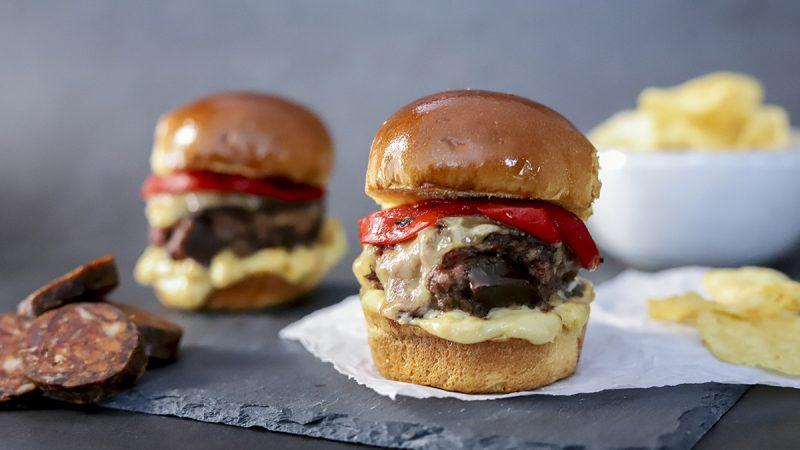Cómo hacer una hamburguesa medalla de oro